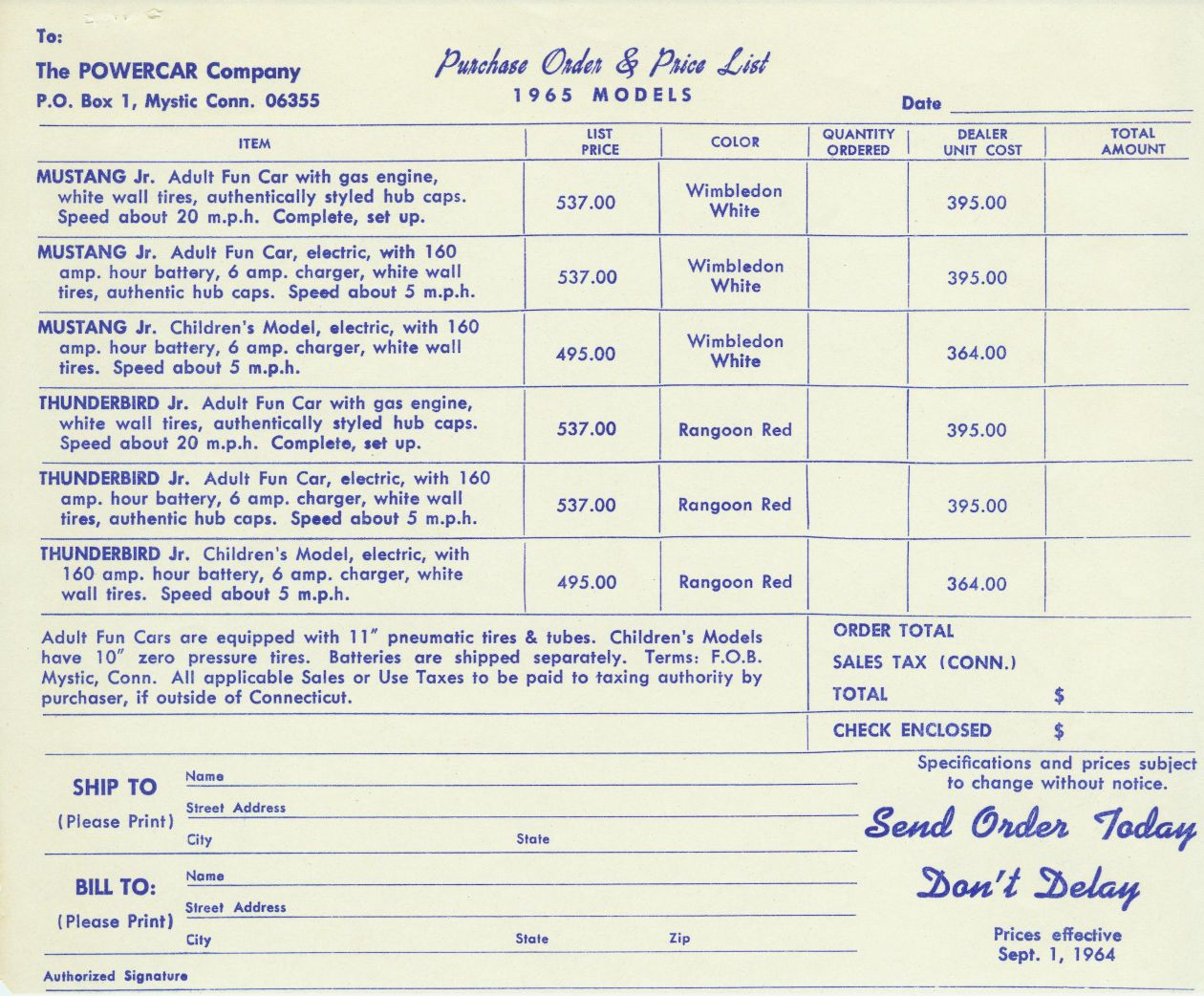 Junior Central Powercar Page - Check dealer invoice price