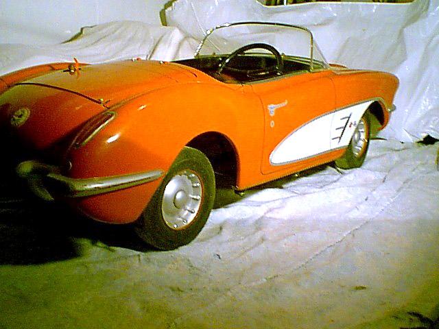 Yardman Chevy Corvette page
